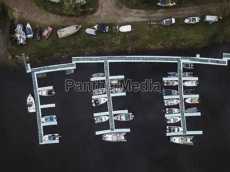 russia saint petersburg aerial view of