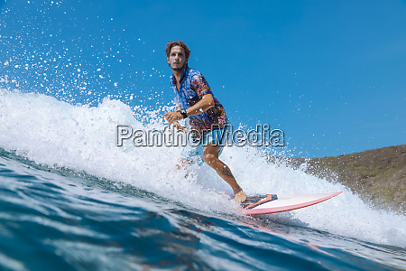 surfer bali island indonesia