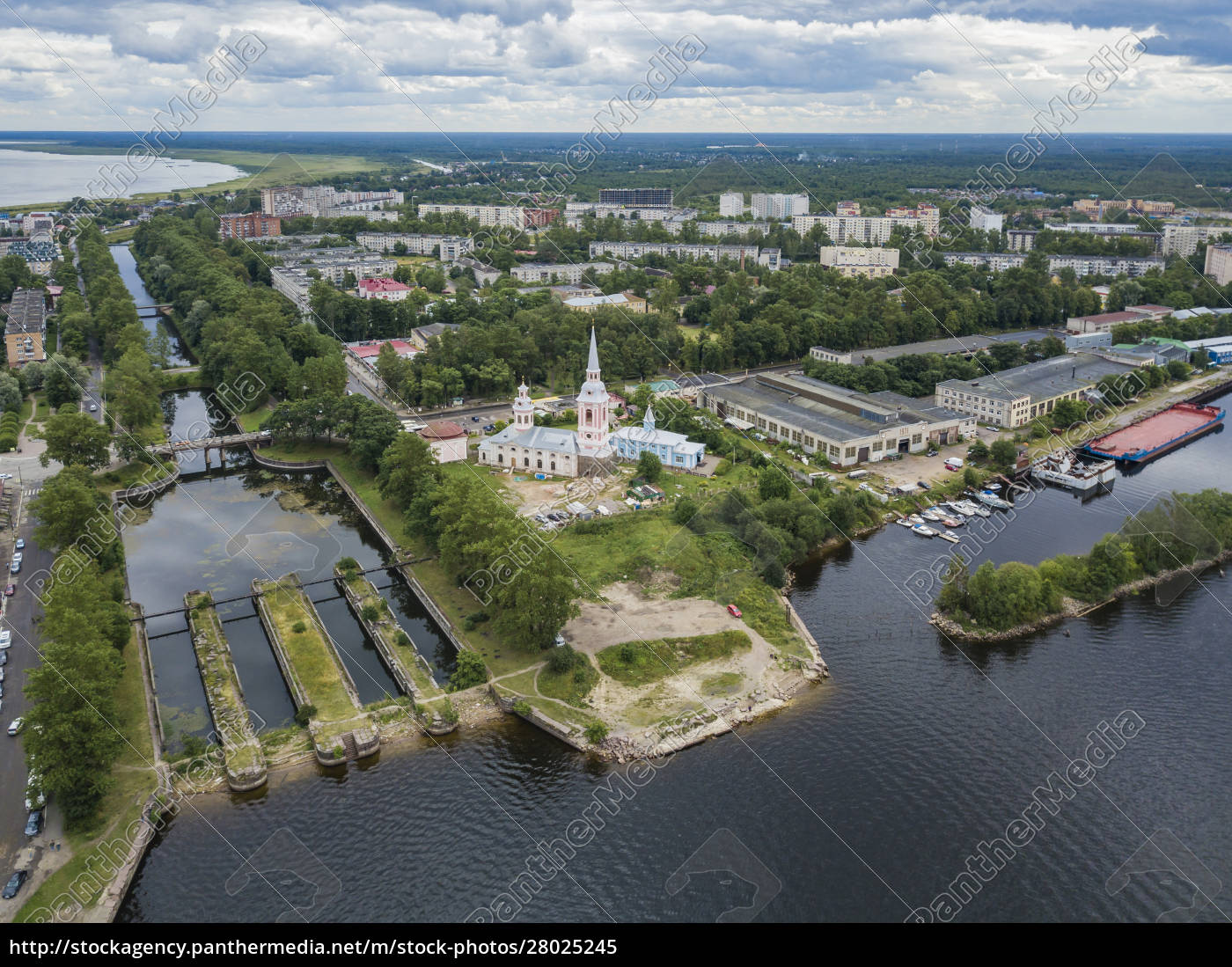 aerial, view, of, annunciation, cathedral, by - 28025245