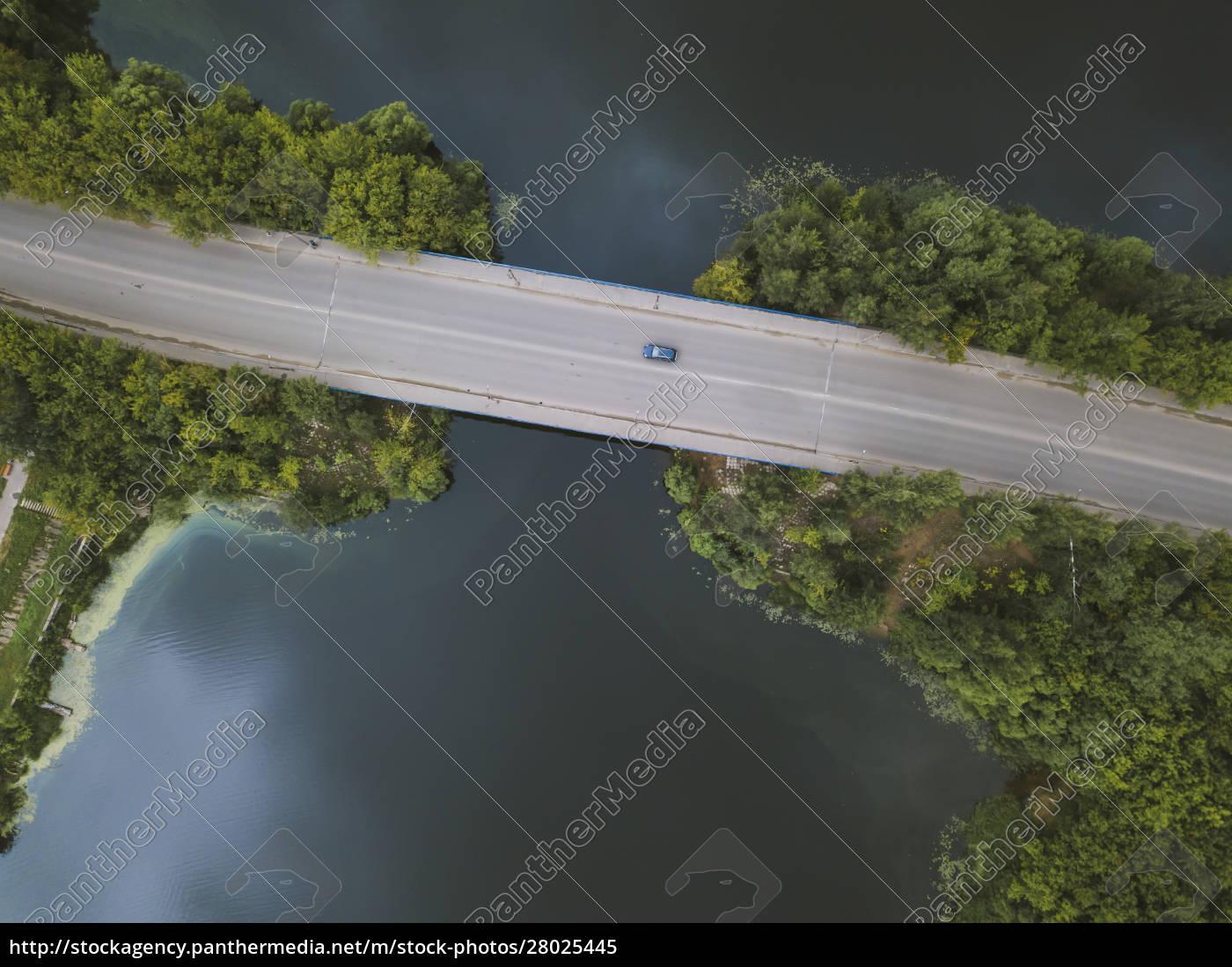 aerial, view, of, bridge, over, volga - 28025445