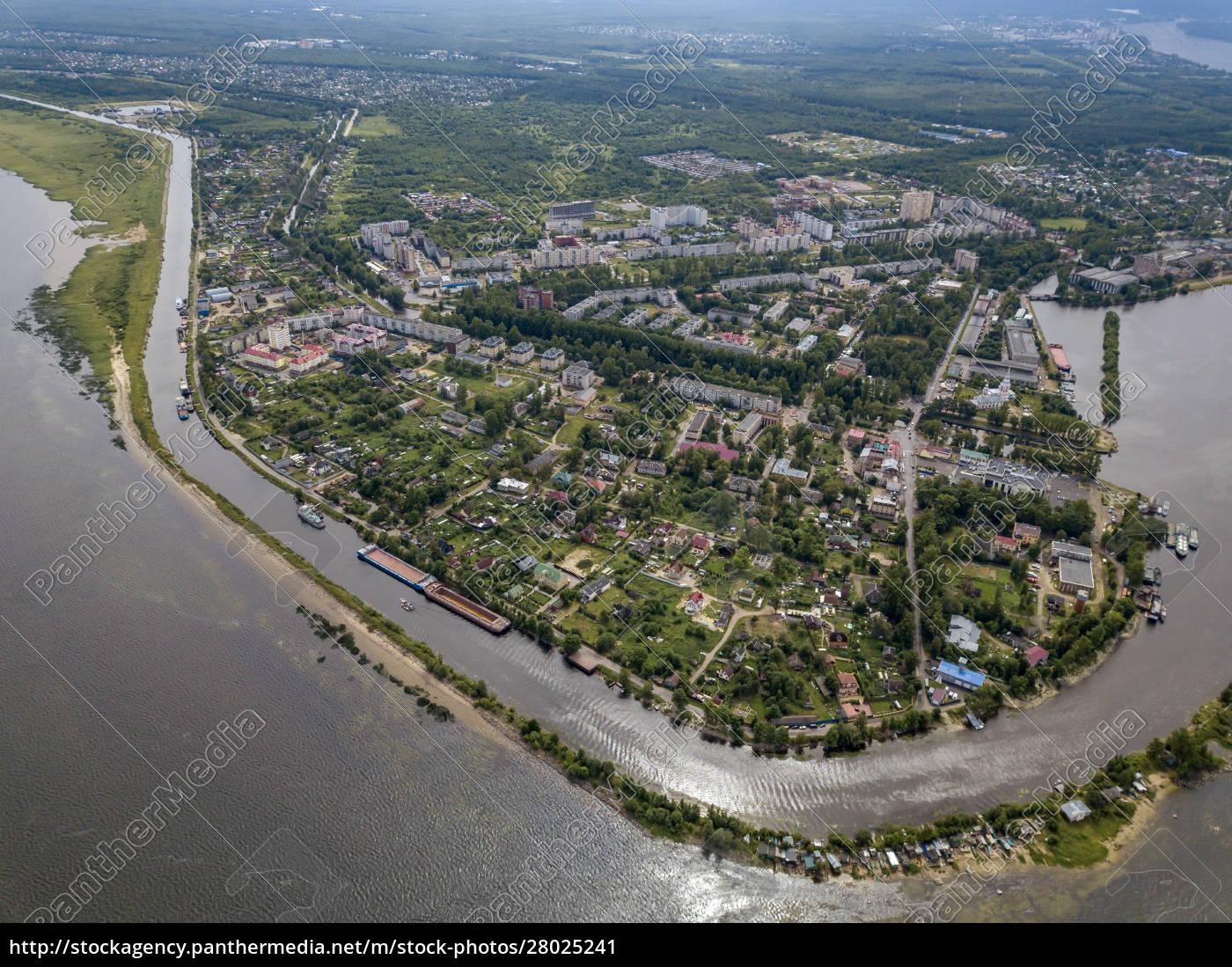 aerial, view, of, neva, river, in - 28025241