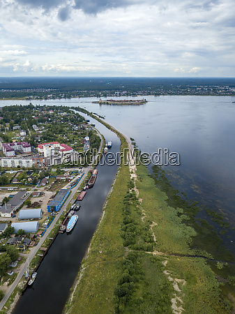aerial, view, of, neva, river, in - 28025242