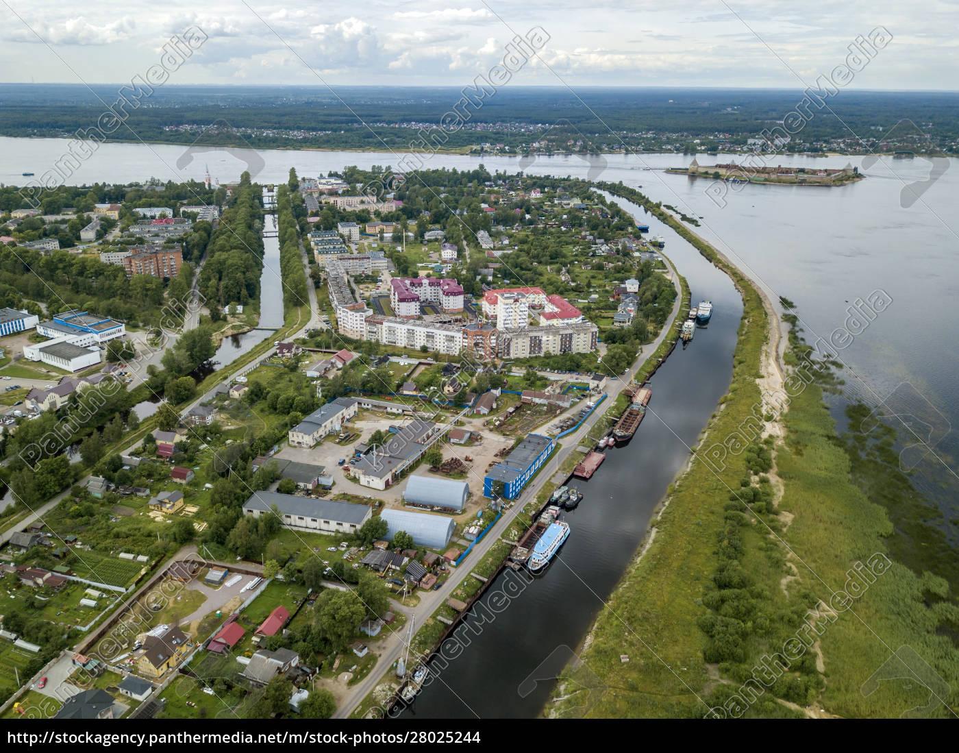 aerial, view, of, neva, river, in - 28025244