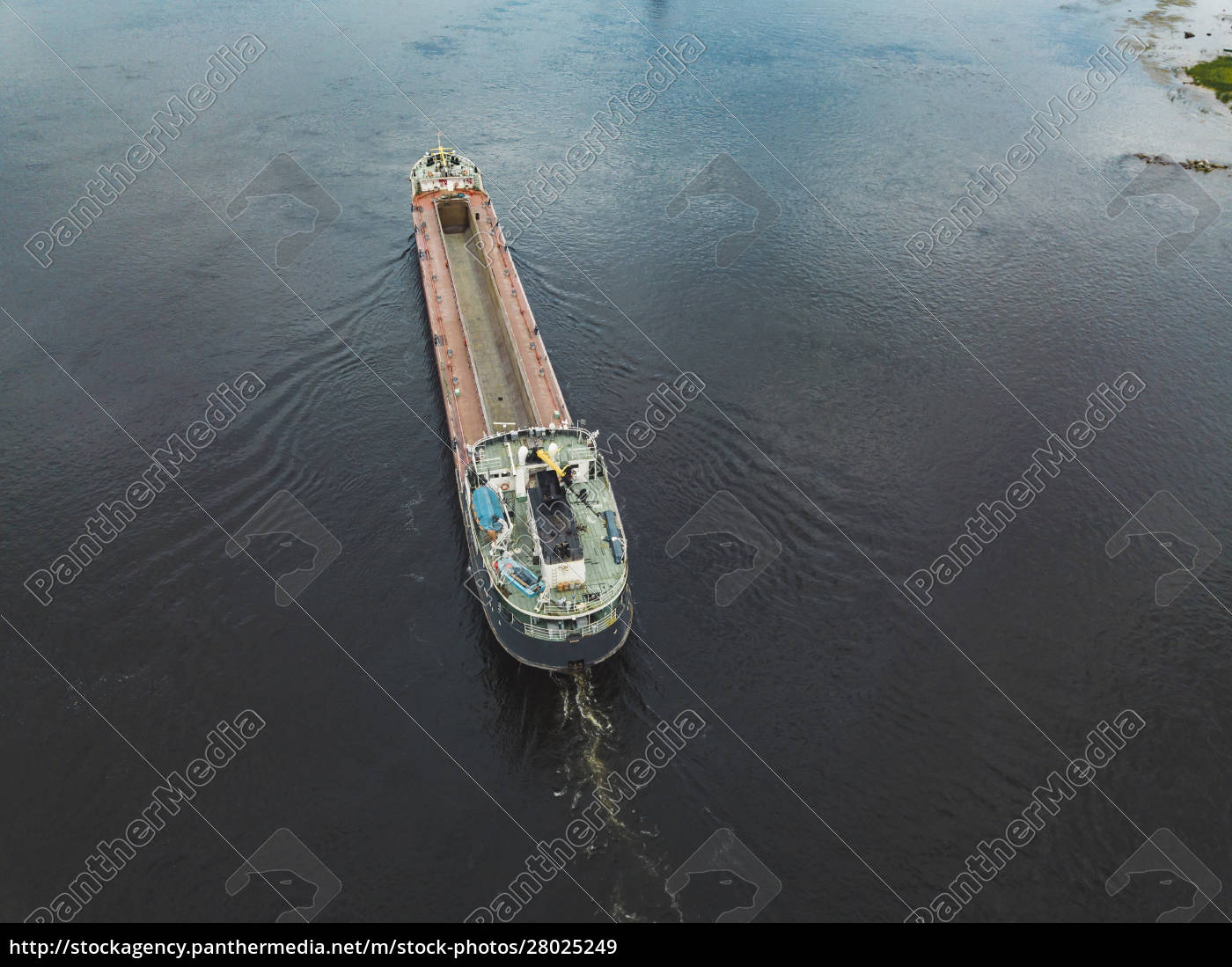 aerial, view, of, ship, in, neva - 28025249