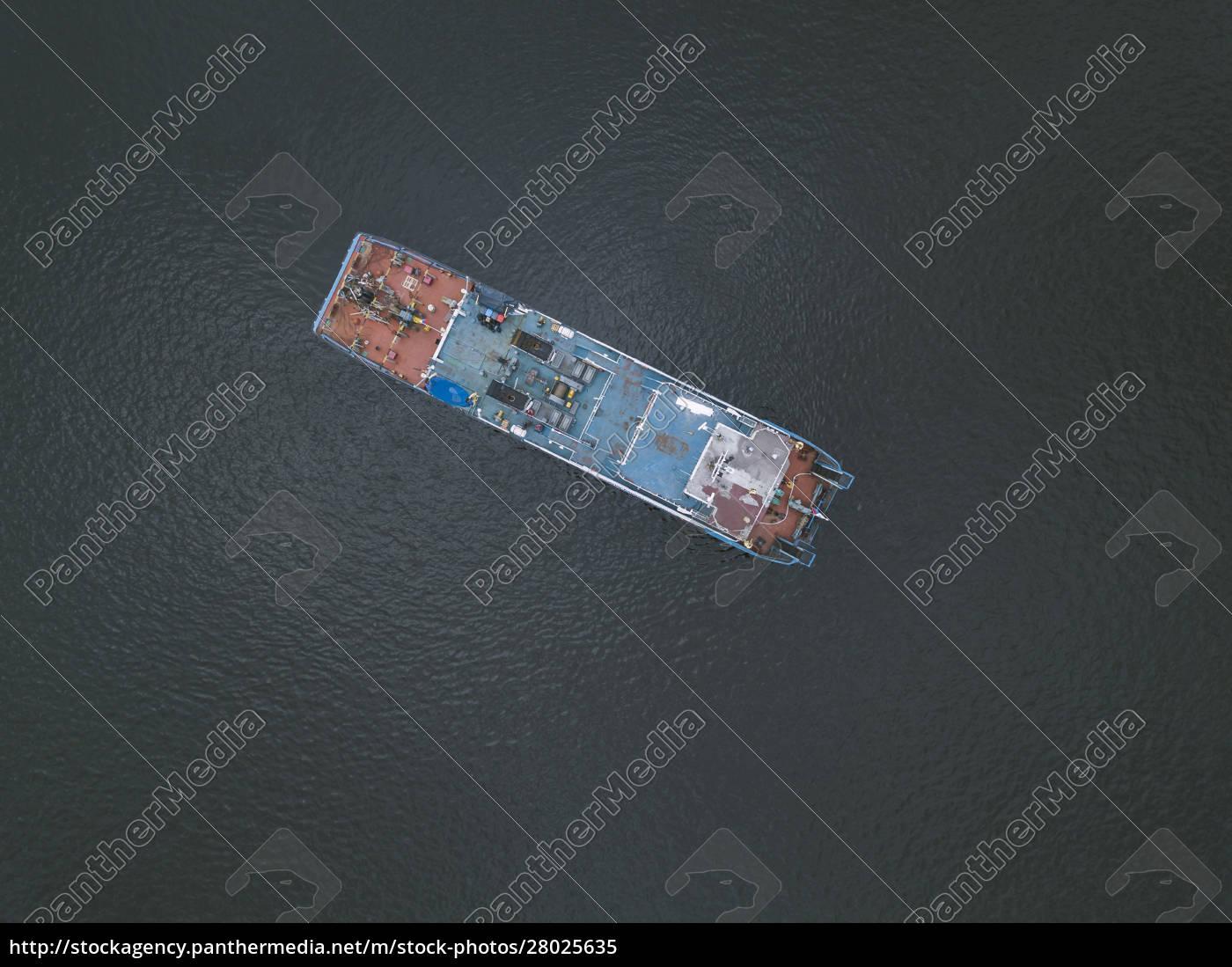 aerial, view, of, ship, in, neva - 28025635