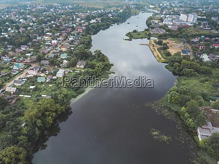 aerial, view, of, volga, river, amidst - 28025448