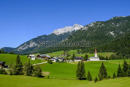 austria tyrol steinberg am rofan countryside