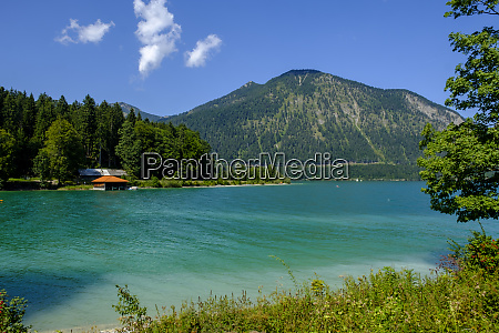 germany upper bavaria bavaria walchensee with