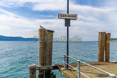 italy lombardy gargano lake garda place