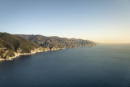 coastline at monterosso al mare liguria