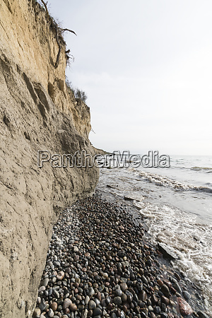 germany mecklenburg vorpommern wustrow cliff and