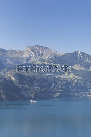 switzerland gersau schwyz scenic view of