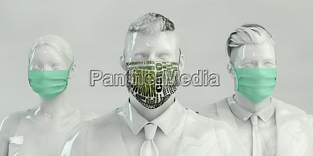 medical team fighting wuhan virus