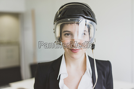 portait of confident young businesswoman wearing