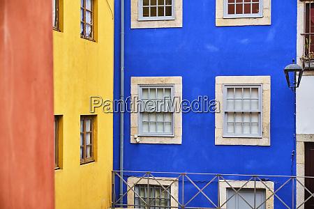 portugal porto ribeira colorful townhouse facades