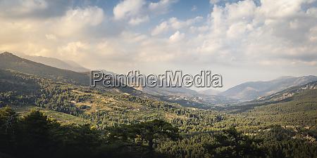 albertacce lac de calacuccia in the