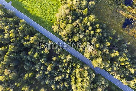 germany bavaria konigsdorf aerial view of