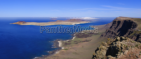 spain canary islands scenic view of