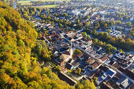 germany bavaria upper bavaria aerial view