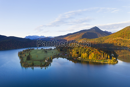 germany bavaria scenic view of lake