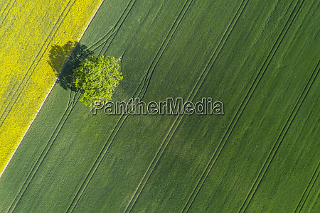 germany mecklenburg westernpomerania aerial view of