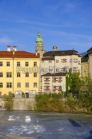 exterior of inn and stadtturm against