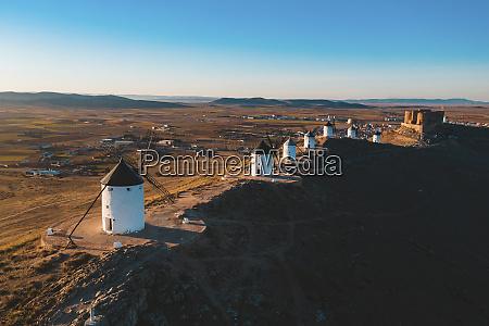 spain province of toledo consuegra row