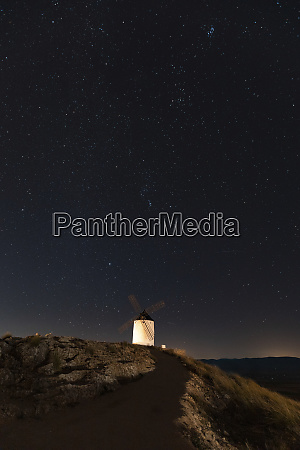 spain province of toledo consuegra starry