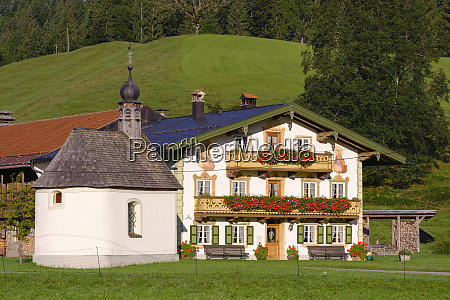 germany bavaria upper bavaria isarwinkel jachenau