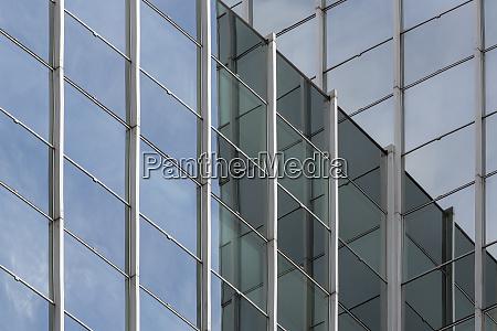 facade of a modern office building