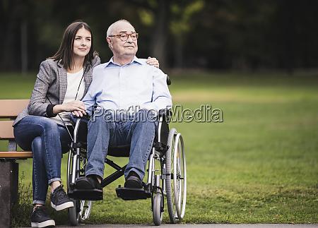 portrait of senior man in a