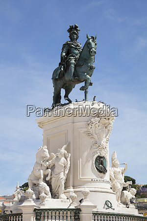 low angle view of statue at