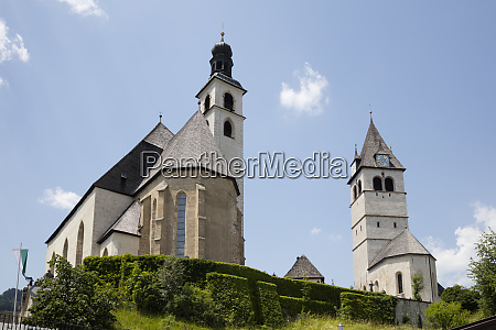 low angle view of pfarrkirche sankt