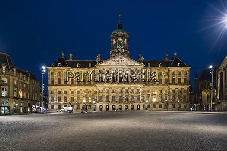 netherlands amsterdam royal palace of amsterdam