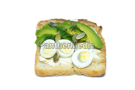 two sandwiches on a gray plate