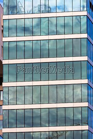 glass skyscraper modern