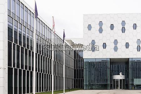 exterior of a modern building vilnius