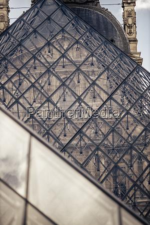 france paris close up of louvre