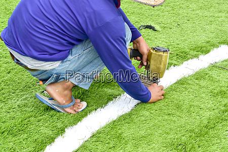 football field repairer