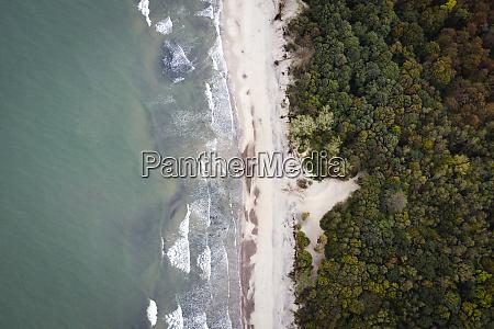 russia kaliningrad oblast zelenogradsk aerial view