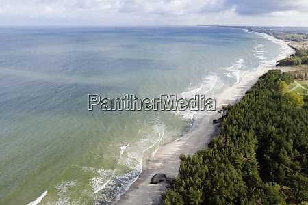 russia kaliningradoblast zelenogradsk aerial view of