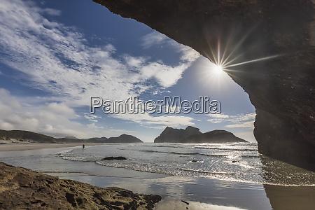 new zealand south island tasman cave