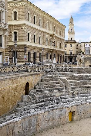 italy apulia lecce roman amphitheater