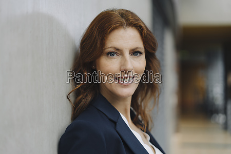 portait of a smiling businesswoman at