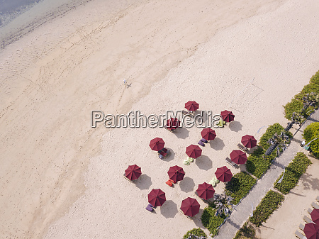 indonesia bali nusa dua aerial view