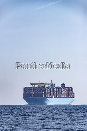 container ship strait of gibraltar tarifa