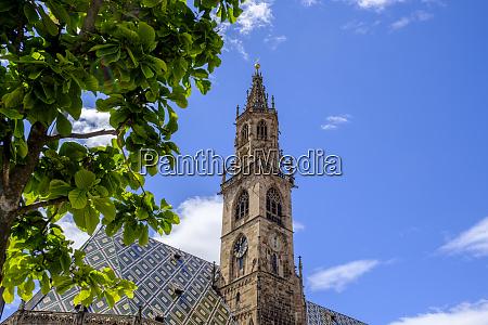 italy south tyrol bolzano bell tower