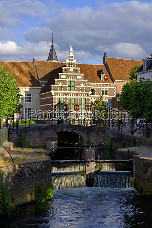 netherlands utrecht amersfoort arch bridge over