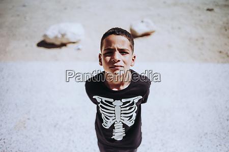 portrait of a boy in smara