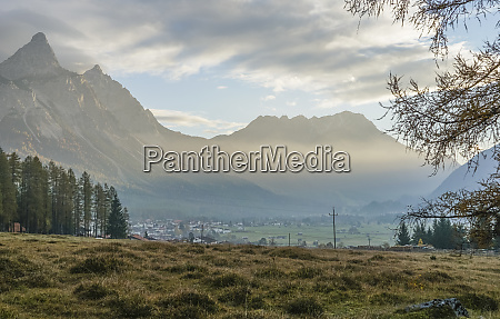 austria tyrol reutte scenic view of